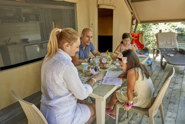 Vacanze Glamping in Famiglia
